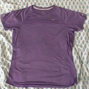 Light Purple Nike Dri-Fit Top